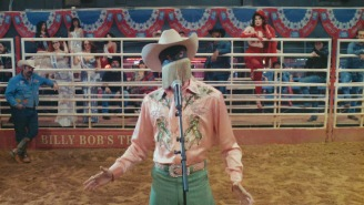 Orville Peck's 'Queen Of The Rodeo' Video Is A Cowboy-Approved Pageant