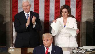Nancy Pelosi Ripping Up Donald Trump's Speech Drew Plenty Of State Of The Union Reactions
