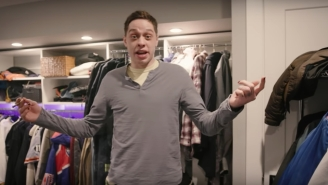 Watch Pete Davidson Show Off His Apartment In His Mom's Basement For Netflix