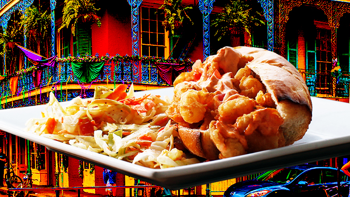Learn How To Make A Shrimp Poboy For This Year's Mardi Gras