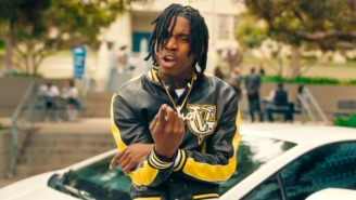 Polo G, NLE Choppa, And Stunna 4 Vegas Are Campus Legends In Their Rowdy 'Go Stupid' Video