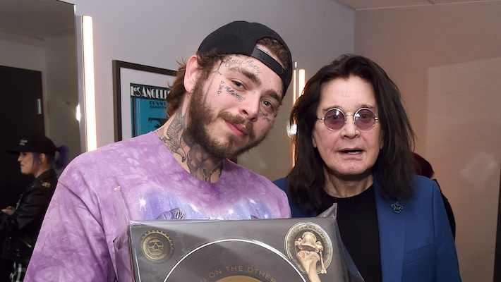 Post Malone And Ozzy Osbourne Team Up Again, This Time On Osbourne's 'It's A Raid'