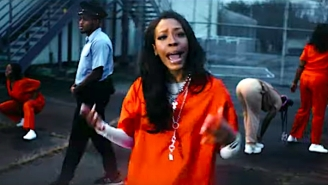 Rico Nasty Helps Jucee Froot Stage A Prison Riot In Her Delirious 'Psycho (Remix)' Video