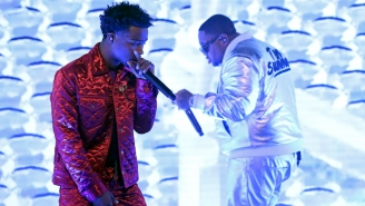 Mustard Brings Roddy Ricch To 'The Tonight Show' For The Second Consecutive Night To Perform 'Ballin'