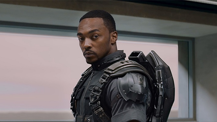 Anthony Mackie On 'Falcon And The Winter Soldier' & His Stunt Double's Heavy Lifting