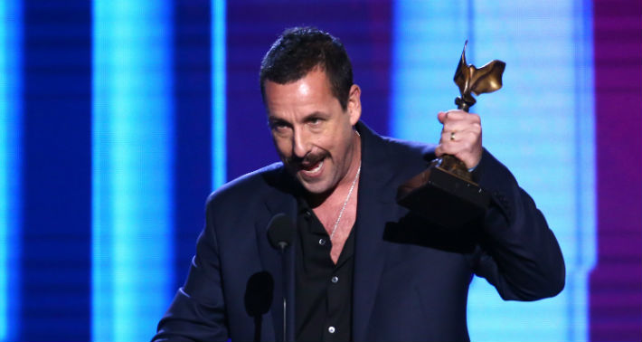 Adam Sandler Addressed His Oscar Snub In His Hilarious Spirit Award Acceptance Speech