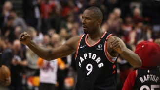 Serge Ibaka Extended The Raptors Win Streak To 12 With A Game-Winner Against Indiana