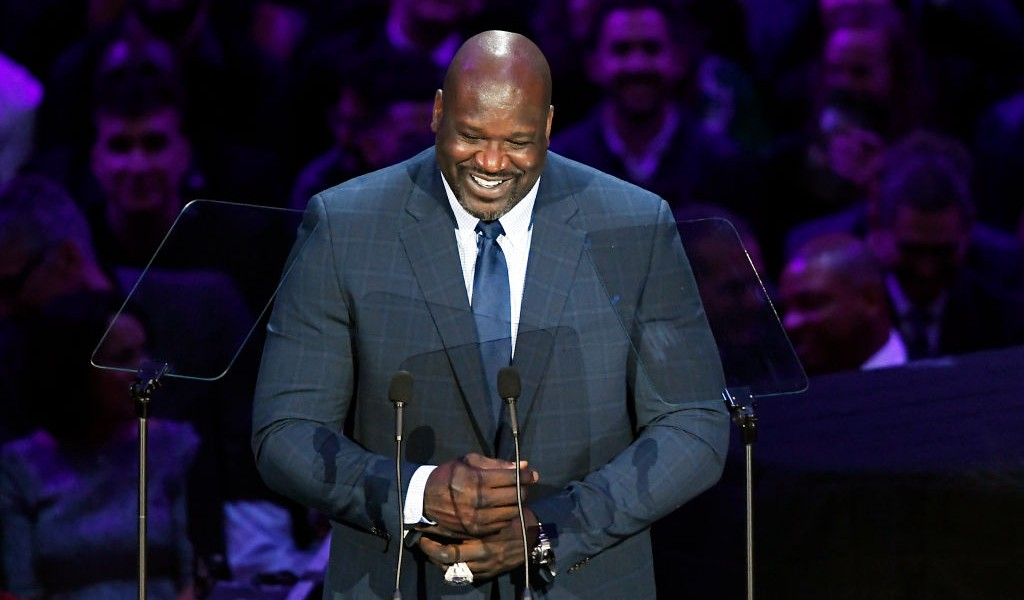Shaq Shared A Hilarious Kobe Story About Not Passing At Bryant's Memorial Service
