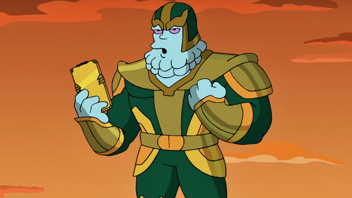Watch A Clip Of Kevin Feige As Chinnos In 'The Simpsons' Marvel Universe Parody