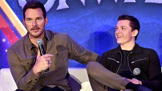 Tom Holland Says Chris Pratt Was His 'Superhero' During The Marvel/Sony Spider-Man Dispute