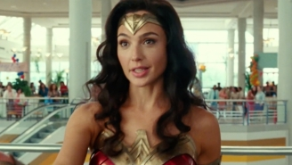 Wonder Woman Ran Into A Stained Charlie Day In A Super Bowl Crossover Ad