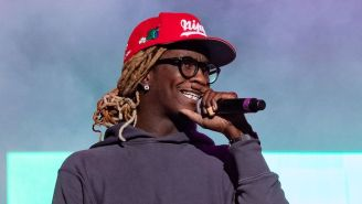 Young Thug Claims He Won Over Half A Million Dollars Betting On The Super Bowl