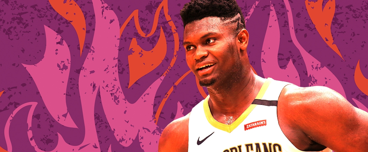 NBA Rookie Watch: Zion Williamson Has Arrived With Force