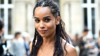 Zoe Kravitz Got Some Big Congrats From Her Dad And Stepdad Over The Teaser For 'The Batman'