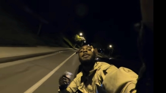 Jpegmafia Goes For A Late Night Drive In His Cash-Filled 'Covered In Money!' Video