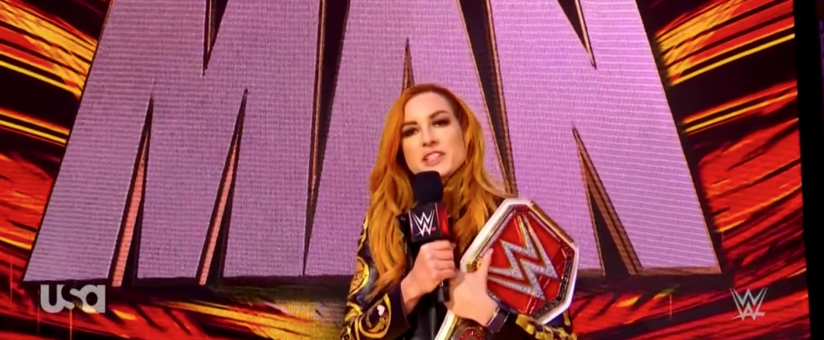 Becky Lynch Commented On Not Being The WrestleMania Main Event This Year