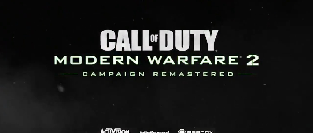 Report Remastered Call Of Duty Modern Warfare 2 Is Coming Tuesday