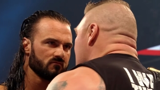 Drew McIntyre Is Very Excited To Face Brock Lesnar At WrestleMania