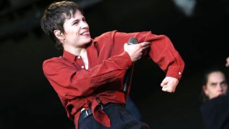 Christine And The Queens Shares A Slow-Burning Cover Of Bruce Springsteen's 'I'm On Fire'
