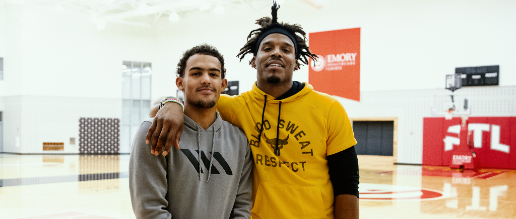 cam newton trae young