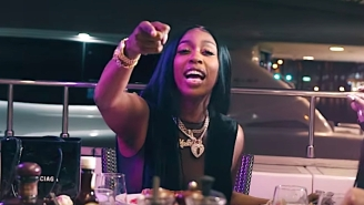 Kash Doll Gets Ratchet On A Yacht In Her Opulent 'Rich Hoochie' Video