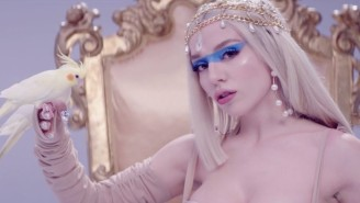 Ava Max Is A Glamorous Monarch In Her Pastel 'Kings & Queens' Video