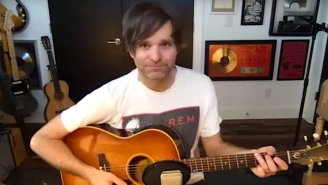 Ben Gibbard Covers Radiohead's 'Fake Plastic Trees' During His Quarantine Live Session