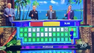 A 'Wheel Of Fortune' Contestant Actually Apologized For His Impressive One-Letter Puzzle Solve