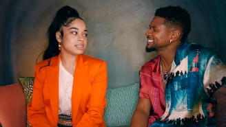Usher Throws A Classy Soiree In His Elegant 'Don't Waste My Time' Video With Ella Mai