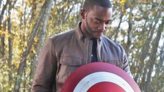 Anthony Mackie Gets Cryptic While Addressing How 'The Falcon And The Winter Soldier' Will Handle Cap's Passing Of The Shield