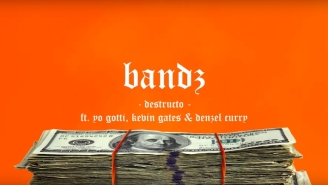 "Yo Gotti, Kevin Gates, And Denzel Curry Link Up To Help Destructo Count Some ""Bandz"""