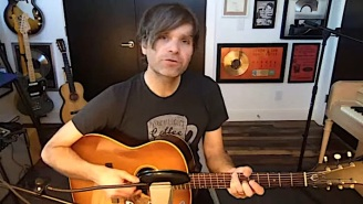 Death Cab For Cutie's Ben Gibbard Covers New Order During His Latest Livestream Performance