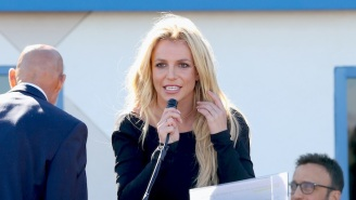 Britney Spears Claims To Have Shattered The 100-Meter Dash Record By Four Seconds