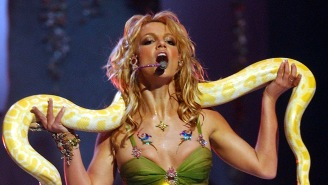 A 'Tiger King' Star Was On-Stage With Britney Spears During Her Infamous VMAs Performance