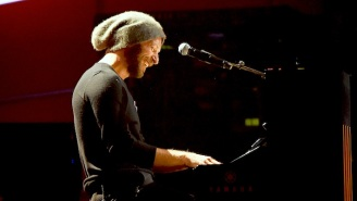 Coldplay's Chris Martin Performed A Livestreamed Concert From His Home For COVID-19 Relief