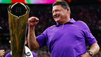 LSU Coach Ed Orgeron Made A Video Laying Out Ways To Prevent The Spread Of Coronavirus