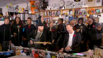 Coldplay's Tiny Desk Concert Features New Songs, Classic Hits, And A Prince Cover