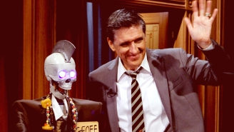 The Funniest 'Break' In Late-Night History Involved Craig Ferguson And A Talking Robot Skeleton