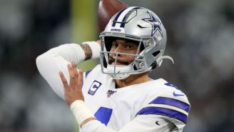 The Cowboys Officially Placed The Exclusive Franchise Tag On Dak Prescott