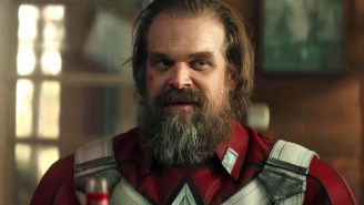 'Black Widow's David Harbour And 'Shang-Chi' Star Simu Liu Are Making The Best Of Their MCU Delays