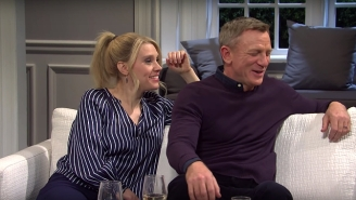 Daniel Craig And Kate McKinnon Struggled To Keep It Together During A Wild 'Deep Quote' Sketch On 'SNL'