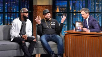 What's On Tonight: 'Desus & Mero' Will Turn The Interview Tables On Seth Meyers