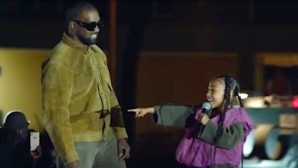Kanye West Livestreams His Yeezy Season 8 Fashion Show With A Special Performance From North West