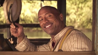 The Rock And Emily Blunt Swing From Vines And Fight Jungle Cats In The 'Jungle Cruise' Trailer