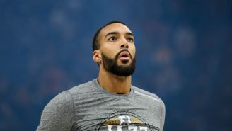 Jazz All-Star Rudy Gobert Reportedly Tested Positive For Coronavirus (UPDATE)
