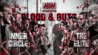 AEW's 'Blood & Guts' Match Has Been Postponed Until The 'Time Is Right'