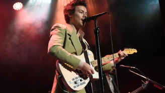 Harry Styles Says He's Been Coping During Isolation By 'Writing So Much'