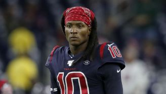The Texans Traded DeAndre Hopkins To The Cardinals For David Johnson In An NFL Stunner