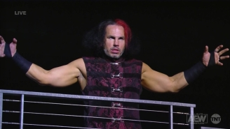 Matt Hardy Made A Surprising AEW Debut To End Tonight's Dynamite