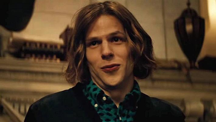 Jesse Eisenberg as Lex Luthor.